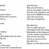 "Kathryn Hellerstein's translation of Kadia Molodowsky's poem ""El khanun."""